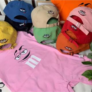 【m&m's】 キッズ帽子 子供 キャップ