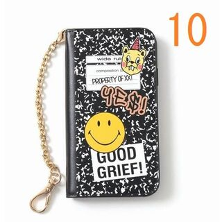 DEUXIEME CLASSE - GOOD GRIEF 追加 SMILE patched iphone cover