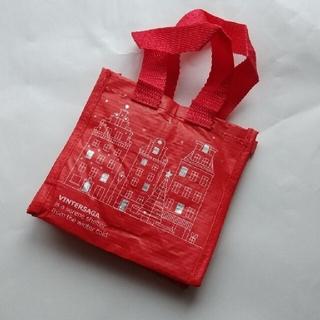 イケア(IKEA)のイケア クリスマス ミニバッグ(ショップ袋)