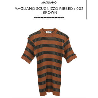JOHN LAWRENCE SULLIVAN - magliano scugnizzo ribbed tシャツ 20ss