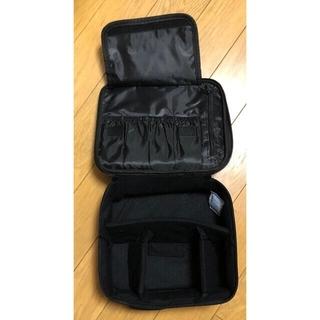 【送料込】 新品 大! メイクボックス メイクバッグ 化粧品ケース ピンク(メイクボックス)