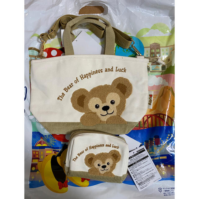 ダッフィー ショルダー バッグ エンタメ/ホビーのおもちゃ/ぬいぐるみ(キャラクターグッズ)の商品写真