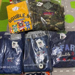 DOUBLE.B - 新品 ダブルB アウター、パンツ、長袖、トレーナー130