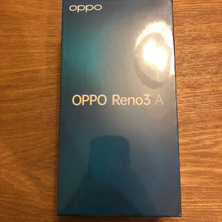 ANDROID - OPPO Reno3 A ブラック