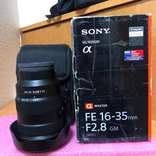 SONY - SONY FE 16-35mm f2.8 GM 美品