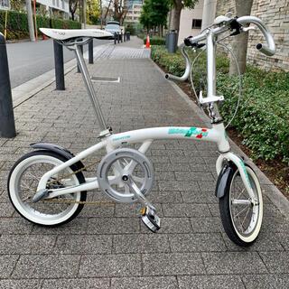 ビアンキ(Bianchi)のBianchi NOVITA ノビータ パールホワイト 14インチ 内装三段(自転車本体)