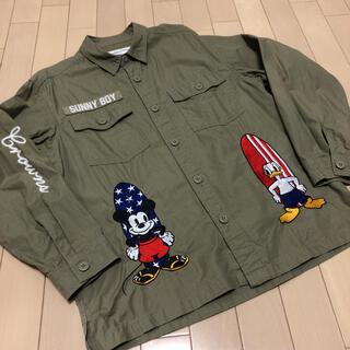 ロデオクラウンズ(RODEO CROWNS)のロデオクラウンズ シャツ ミリタリージャケット ディズニー(シャツ/ブラウス(長袖/七分))