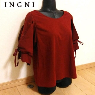 INGNI - INGNI イング トップス 袖レース サイズ M