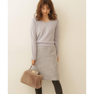 PROPORTION BODY DRESSING - Proportion Body Dressing チャームツイードタイトスカート
