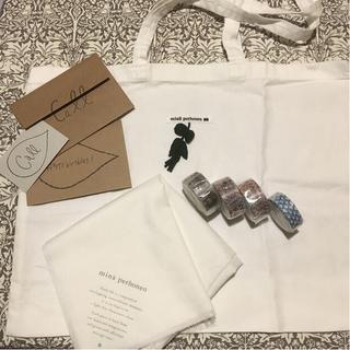 mina perhonen - ミナペルホネン*ショッパー・マステ・カード・風呂敷