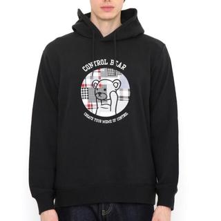 グラニフ(Design Tshirts Store graniph)のグラニフ くま スエット 黒 XL 未使用(パーカー)