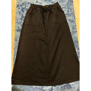 グローブ(grove)のロングスカート ブラック 黒(ロングスカート)
