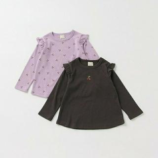 petit main - 新品 プティマイン アソートTシャツ2枚セット 110