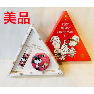コスメキッチン(Cosme Kitchen)のコスメキッチン スヌーピー ハンドクリーム リップ クリスマス限定BOX (ハンドクリーム)