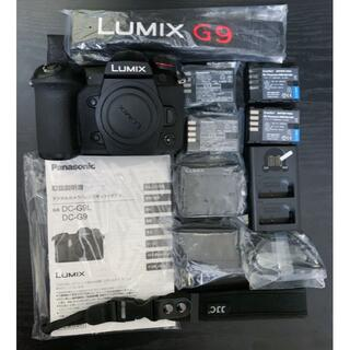 Panasonic - 《期間限定値下げ》LUMIX G9PRO 予備純正バッテリー4個付き