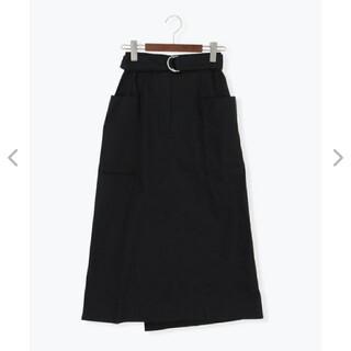 サマンサモスモス(SM2)のTe chichiTERRASSE 綿ツイル前後2WAYスカート(ロングスカート)