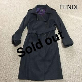 フェンディ(FENDI)のFENDI コート(ロングコート)