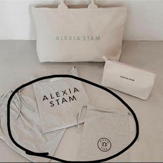 ALEXIA STAM - 新品未使用 alexiastam アリシアスタン ルームウェア