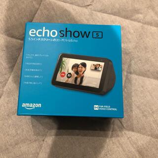 ECHO - amazon echo show 5 ブラック 新品未使用