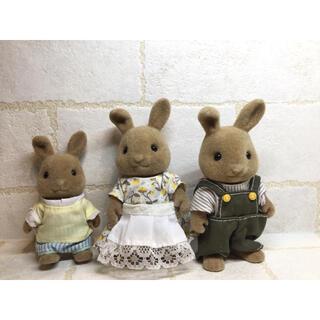 EPOCH - シルバニアファミリー 人形 ライトブラウンウサギ ライトブラウン うさぎ 海外版