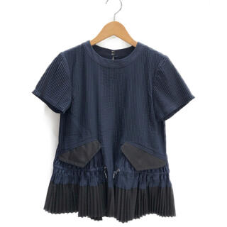 サカイ(sacai)のsacai(サカイ)   プリーツプルオーバーシャツ(シャツ/ブラウス(半袖/袖なし))
