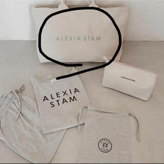 ALEXIA STAM - 新品未使用 alexiastam アリシアスタン ビックトートバッグ