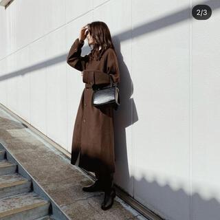 moussy - マウジー BAL COLLAR LONG COAT ステンカラー コート