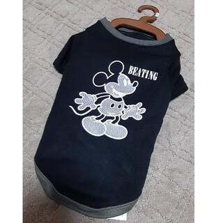 ディズニー(Disney)の新品☆ミッキー柄 犬服 裏起毛 10kg前後(ペット服/アクセサリー)
