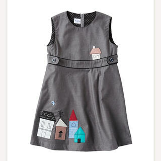 familiar - ファミリア ワンピース 2019 ジャンパースカート 新品未使用 タグ付き