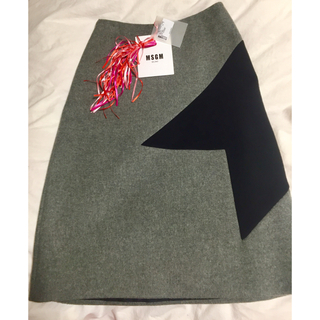 MSGM - MSGM ウール スカート