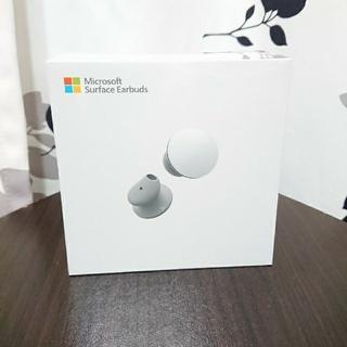 Microsoft - 新品・未開封Microsoft Surface Earbudsライトグレー
