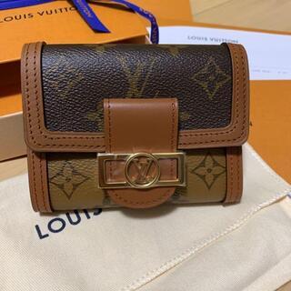 LOUIS VUITTON - ルイヴィトン 折り財布 M68725 ポルトフォイユ・ドーフィーヌ コンパクト