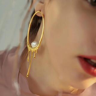agete - Lava Pearls ピアス 【2点のみ】