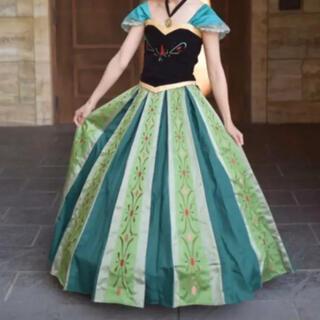 ディズニー(Disney)のアナ 戴冠式 Dハロ 仮装(衣装一式)