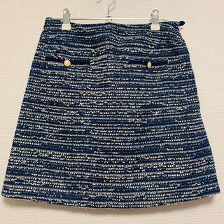 ナチュラルビューティーベーシック(NATURAL BEAUTY BASIC)の【NATURAL BEAUTY BASIC】膝丈スカート(ひざ丈スカート)