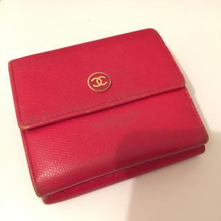 シャネル(CHANEL)の再出品シャネル二つ折り財布(財布)