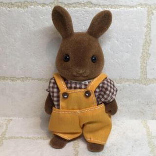 EPOCH - 美品 シルバニアファミリー ブラウンうさぎ 初期 お父さん ウサギ