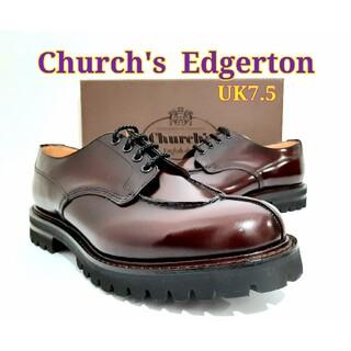 Church's - 新品Church's Edgerton UK7.5 チャーチ Uチップ シャノン
