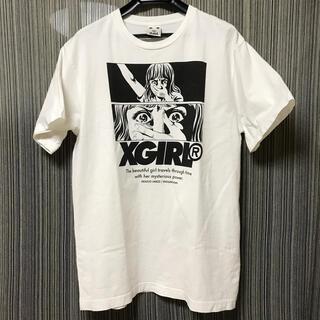 X-girl - X-girl  楳図かずお Tシャツ ホワイト