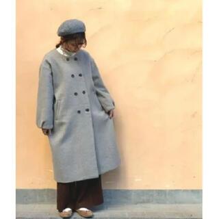 SM2 -  【お値下げ】サマンサモスモス  中空糸W釦コート