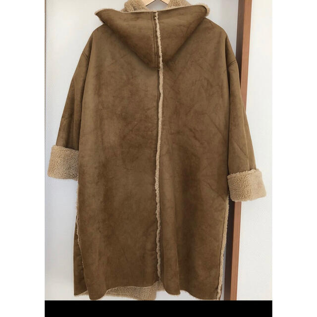 しまむら(シマムラ)のムートンコート フェイク レディースのジャケット/アウター(ムートンコート)の商品写真