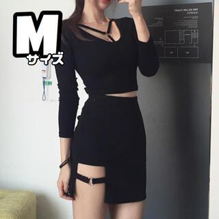 人気 M 韓国風 ガーターベルト ミニスカート タイトスカート セクシー 可愛い(ミニスカート)
