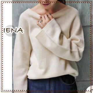 IENA - IENA イエナ ホールガーメント フレアスリーブ ニット レディース セーター