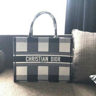 Christian Dior - Christian Dior トートバッグ ブラック ホワイト