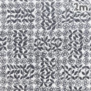 mina perhonen - 〈2m〉リバティ タナローン スリーピングローズ グレー系