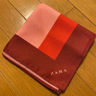 ザラ(ZARA)のZARA 風呂敷 ノベルティ 非売品(バンダナ/スカーフ)