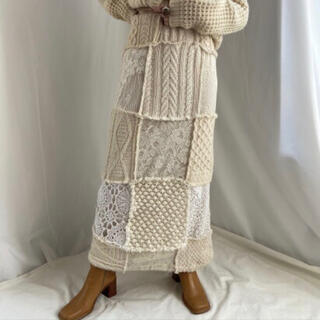 エディットフォールル(EDIT.FOR LULU)の6.5万 即完売MALION vintageスカートfumika uchida(ロングスカート)