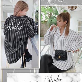 Rady - ♡Rady♡バックロゴストライプシャツ