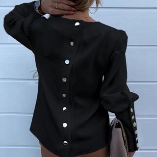 EMODA - 新品◆バッククリップデザイナーファッションシャツ