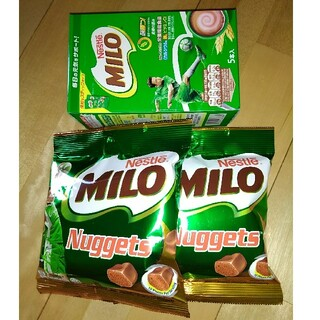 ネスレ(Nestle)のミロ2種類(菓子/デザート)